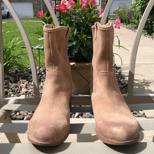 UGG RIONI Suede Tan Boots